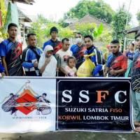 SSFC Korwil Lombok Timur Lakukan Kegiatan Sosial